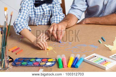 Art Equipment Of Young Artist