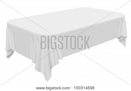 Rectangular Rounded Tablecloth
