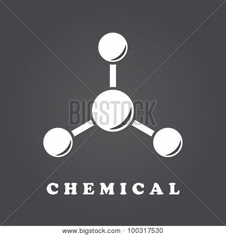 Abstract Molecule Icon