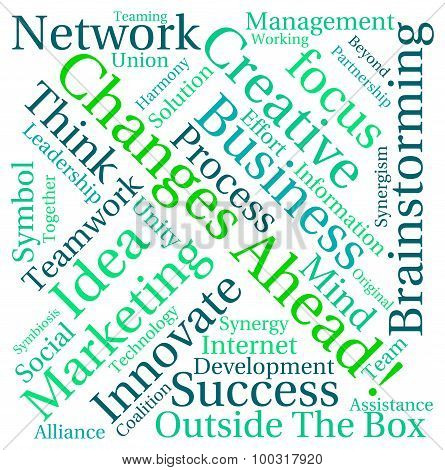 Changes Ahead Word Cloud