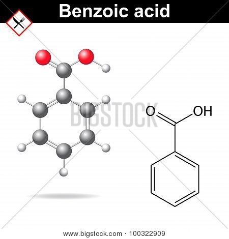 Benzoic Acid Structure
