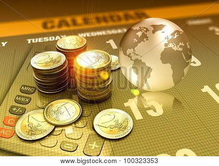 Finance And Investment As Concept