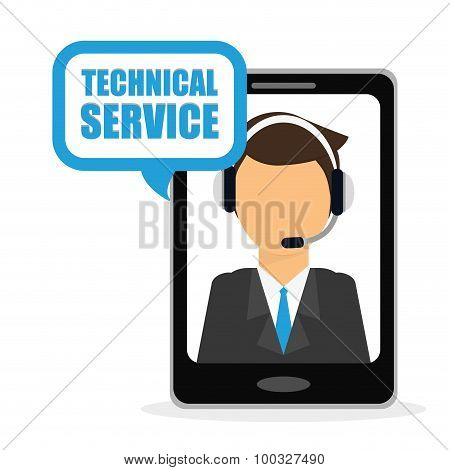 Technical service design.