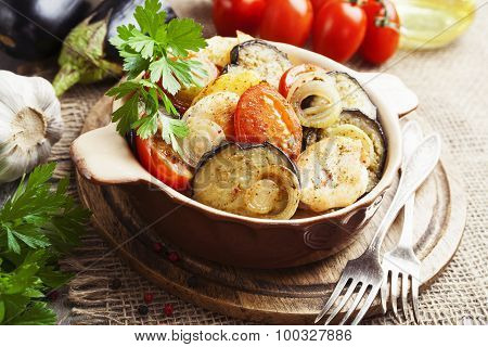 Chicken Stew With Vegetables