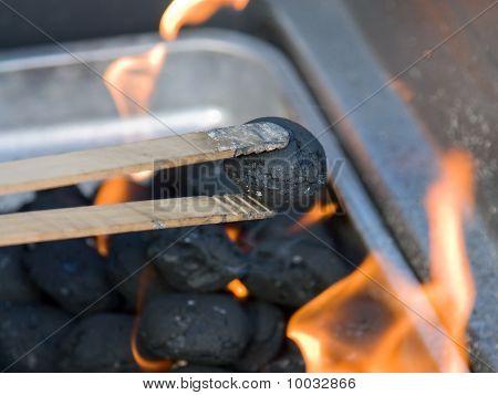Carbón de leña