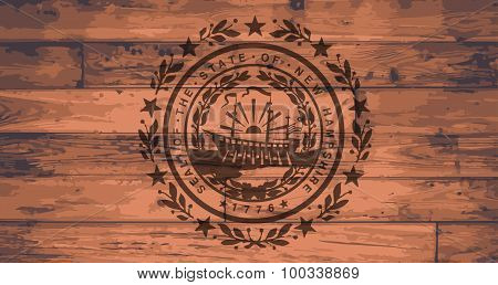 New Hampshire State Flag Brand
