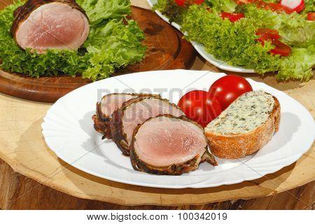 Pork Tenderloin, Pork Medallions, Grilled, Pork, Meat, Bacon