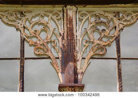 Windows with decoration