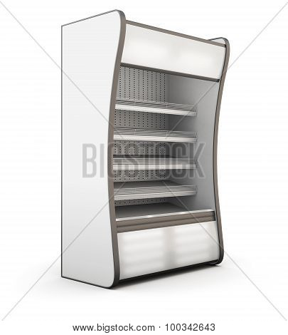 Refrigerator Showcase Isolated