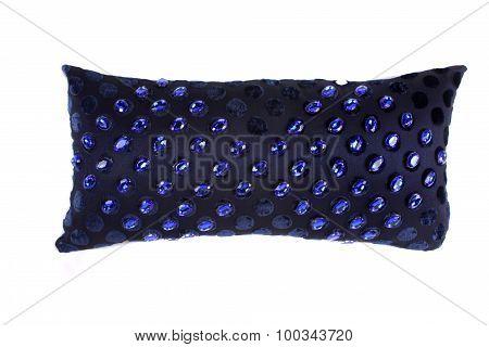 Blue Gemstones Pillow