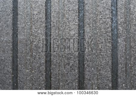 gray corrugated metal texture background