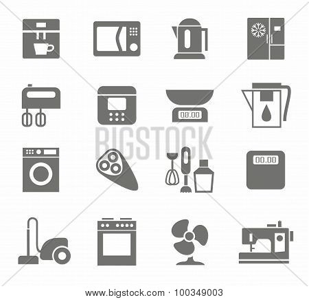 Icons, Appliances, Monotone, ...