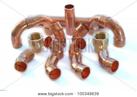 Plumbing Copper Connections