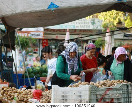 The Market In Alanya