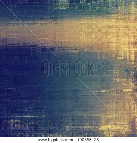 Vintage texture with space for text or image. With different color patterns: yellow (beige); brown; blue; gray
