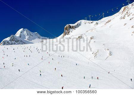 Large Ski Resort