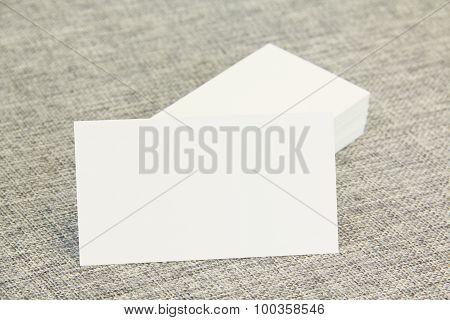Business Cards Left