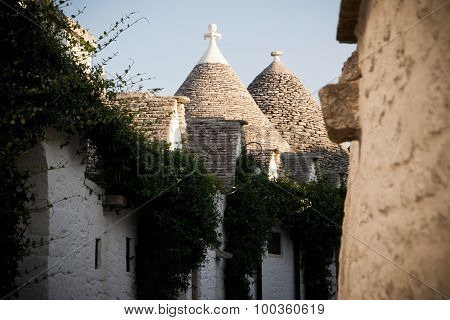 Trulli in the alley