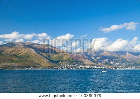 Summer Landscape Of Gaeta Bay, Italy