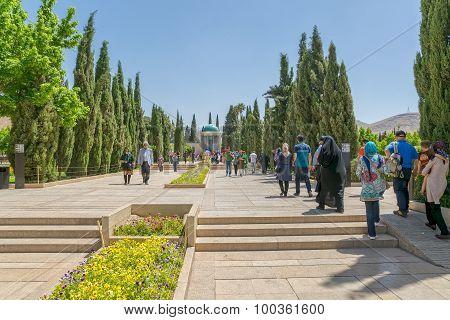 Mausoleum of Saadi in Shiraz