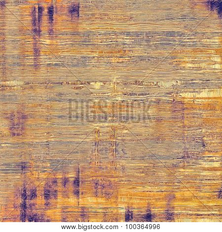 Old abstract grunge background for creative designed textures. With different color patterns: yellow (beige); brown; gray; purple (violet)