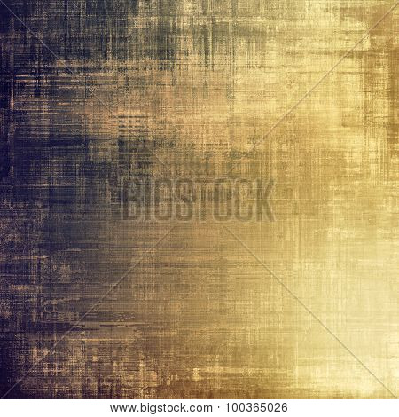 Aging grunge texture, old illustration. With different color patterns: yellow (beige); brown; gray; purple (violet)
