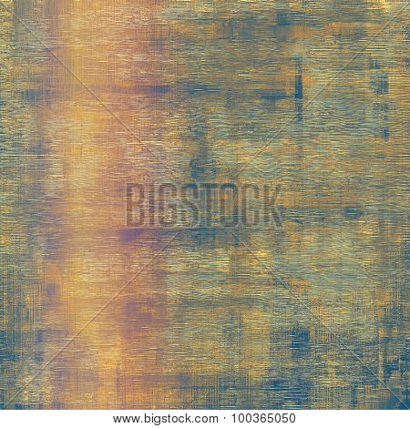 Old antique texture or background. With different color patterns: yellow (beige); brown; blue; pink