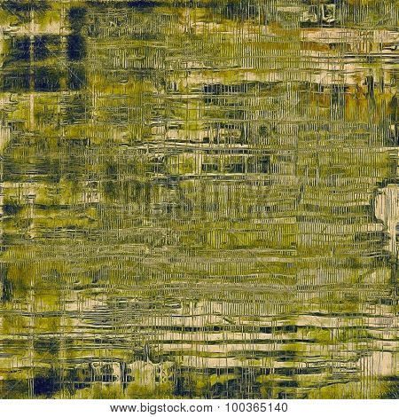 Art grunge vintage textured background. With different color patterns: yellow (beige); brown; green; gray