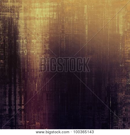 Old texture - ancient background with space for text. With different color patterns: yellow (beige); brown; black; purple (violet)