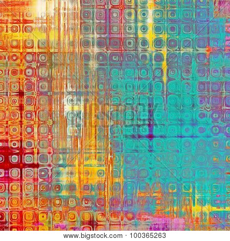 Abstract grunge background. With different color patterns: yellow (beige); blue; red (orange); purple (violet)