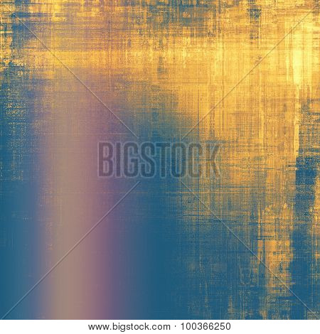 Old Texture or Background. With different color patterns: yellow (beige); brown; blue; pink