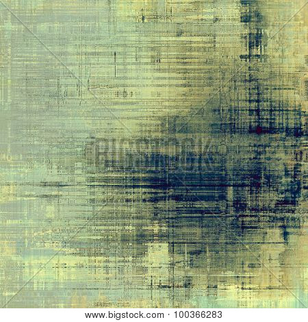 Old, grunge background or ancient texture. With different color patterns: yellow (beige); blue; cyan; gray