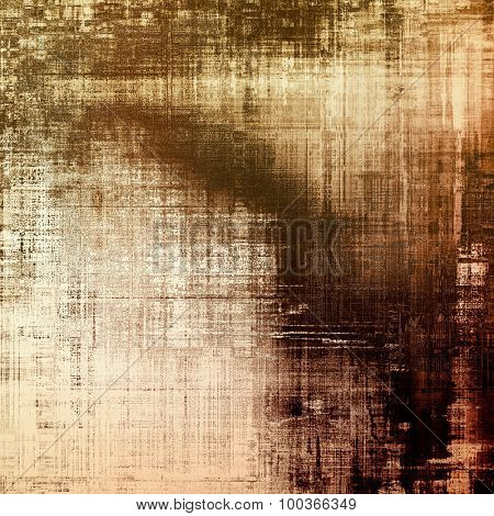 Abstract grunge background. With different color patterns: yellow (beige); brown; black; gray