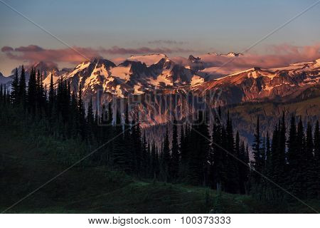 mountains  in Washington,USA