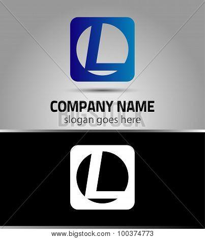 Letter L logo design