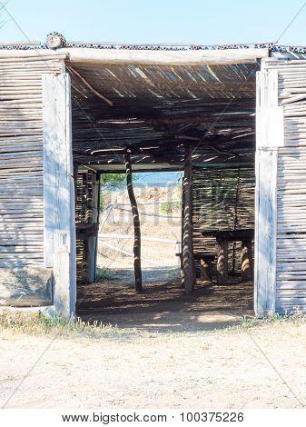 Entrance That Frames The Exit