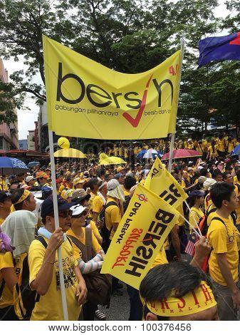 Bersih Rally for Free Fair Elections, Malaysia
