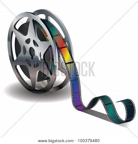 Movie Reel Icon