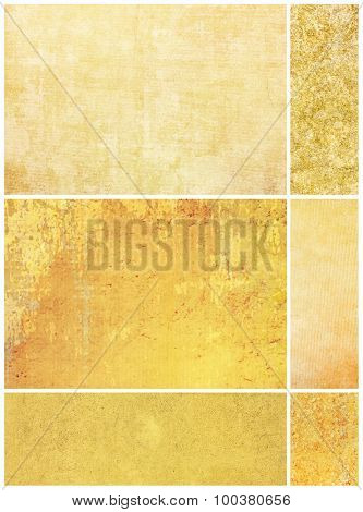 background in grunge style  containing different textures