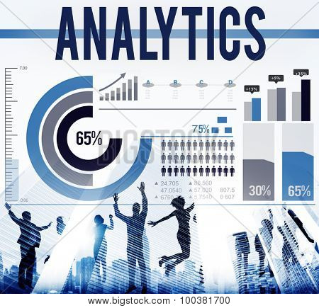Analytics Data Information Statistics Technology Concept