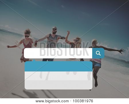Search Searching Information Summer Leisure Concept