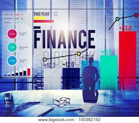 Finance Accounting Banking Money Concept