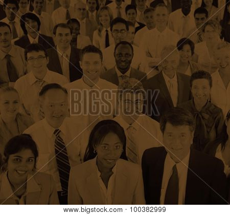 Diversity Business People Cooporate Team Community Concept