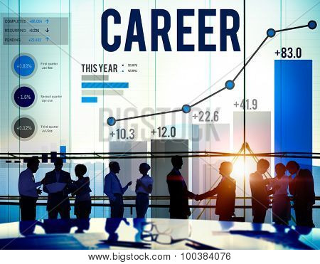 Career Employment Job Recruitment Occupation Concept