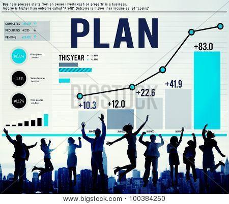 Business Plan Planning Mission Success Concept