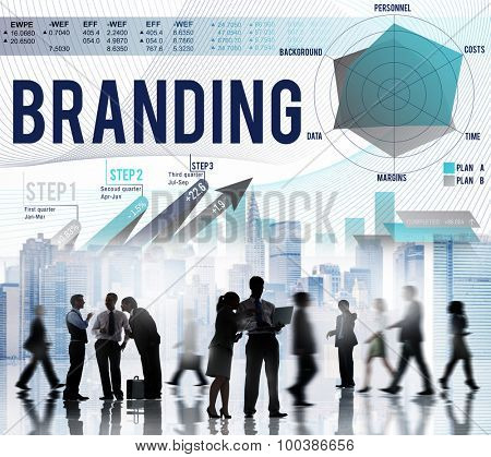 Branding Advertising Commercial Copyright Marketing Concept
