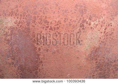 Red Brick Wall. Red Cement Wall. Grunge Cement Wall