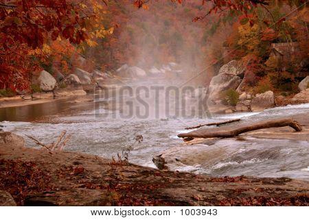 Cumberland River In Autumn