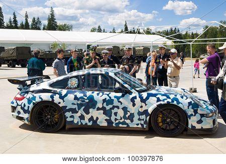 Supercar 9ff 911 GTurbo 1200 (Porsche 911 GT3) belonging to the organization