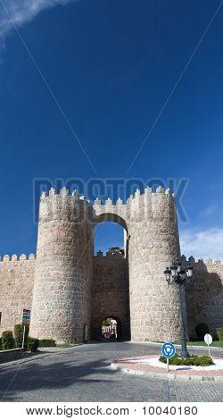 Medieval City Avila Near Madird
